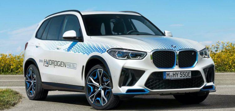 BMW X5 переробили на водневий кросовер