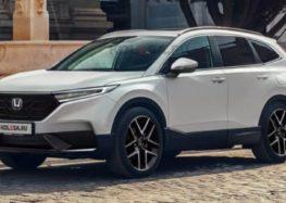 Є перші зображення нової Honda CR-V
