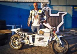 Електромотоцикл DNEPR знову їде в Бонневиль заради рекорду