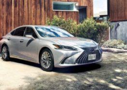 Lexus оновив версію ES на японському ринку
