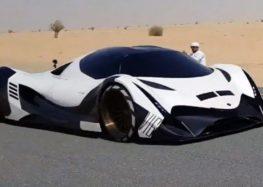 Араби створили суперкар на 5 000 к.с. (відео)