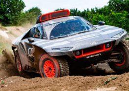 Audi розпочала тести авто для «Дакара»