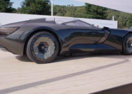 Audi представила концепт електромобіля-трансформера