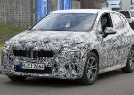 BMW розробляє гібридний мінівен