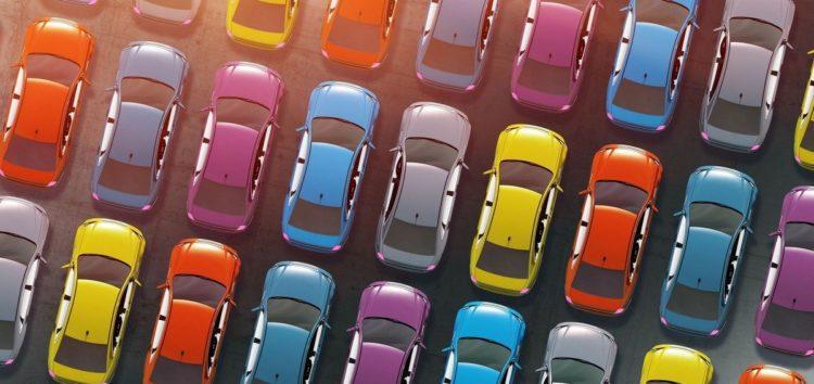 Автомобілі яких кольорів українці купують найчастіше в 2021 році