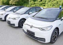 Немецкая полиция купила электрические Volkswagen ID3