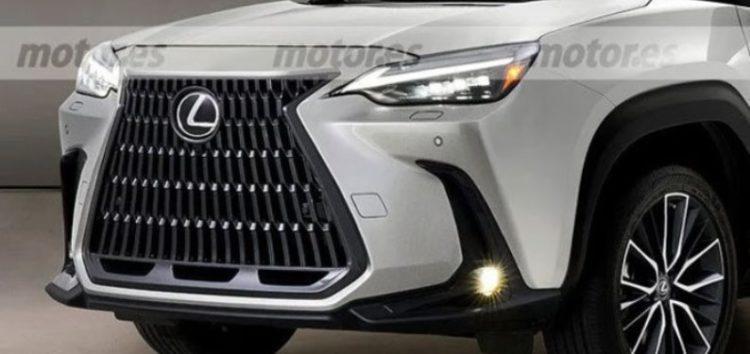 З'явились перші фото компактного кросовера Lexus