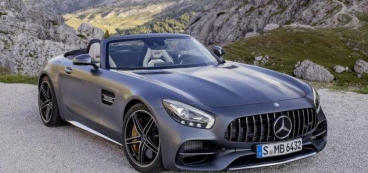 Стартували продажі нового Mercedes-AMG GT Roadster