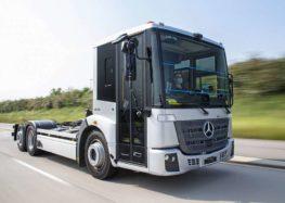 Mercedes-Benz розпочав випробування електровантажівки