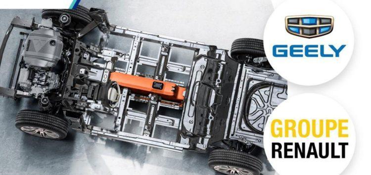 Renault та Geely стали технологічними партнерами
