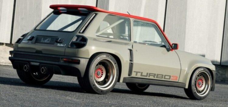 Renault 5 перетворили на «ракету»