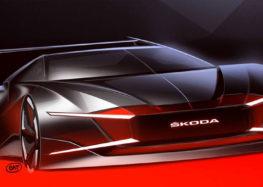 Skoda показала «вампирський» автомобіль