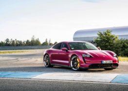 У Porsche оновили Taycan