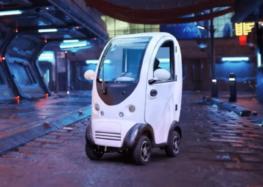 Створили найменше електричне авто для однієї людини