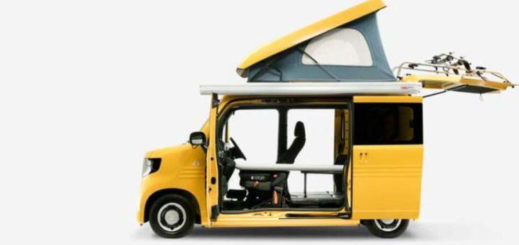 Honda N-Van Compo – мініатюрний кемпер-велетень