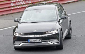Електрокар Hyundai був замічений на тестах