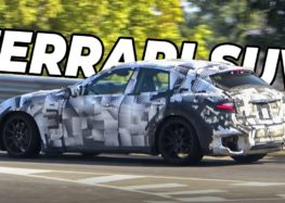 Ferrari проводить тестування кросовера Purosangue