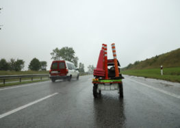 Новий робот для ремонту доріг в Україні