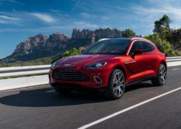 Aston Martin тестує свій найпотужніший кросовер