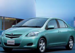 Toyota розробляє новий седан