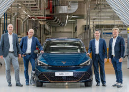 Новий електромобіль Cupra Born вступив у виробництво