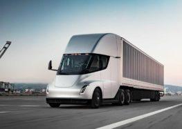 Китайська DeepWay представила електричного конкурента Tesla Semi