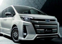 Toyota представила новий мінівен Noah