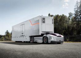 Volvo і Aurora представили безпілотну вантажівку