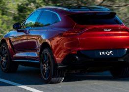 Aston Martin проектує лінійку на платформі DBX