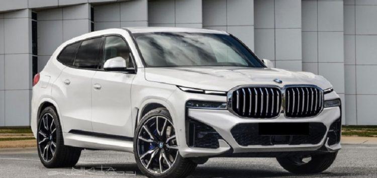 У інтернеті продемонстрували перші фото нового BMW X8