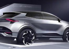 Kia показала дизайн нового Sportage