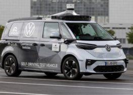 Volkswagen офіційно випустив автономний фургон VW ID. Buzz