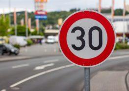 У Парижі знизили швидкості до 30 км / год
