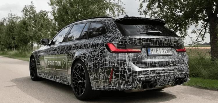 BMW в процесі створення M3 Touring