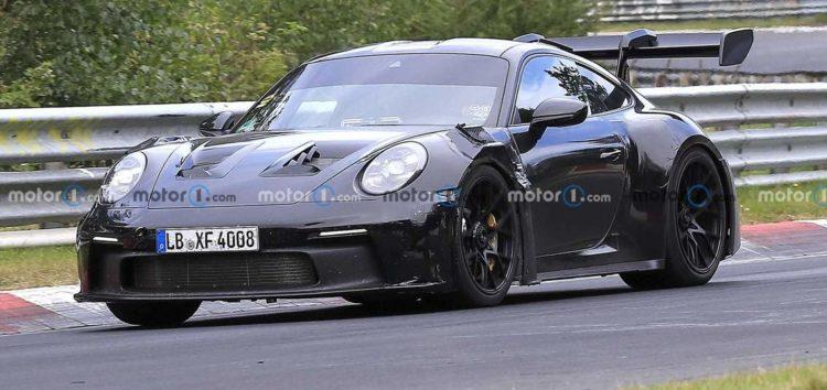 Новий Porsche 911 GT3 RS буде мати ще агресивніший дизайн