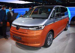 Новий VW T7 показано наживо