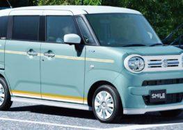 Suzuki демонструє Wagon R Smile
