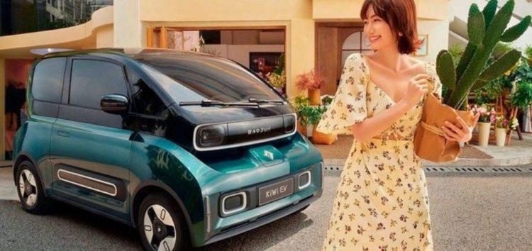 Baojun продемонстрував електроавтомобіль KiWi EV для міста