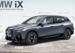 Новий BMW iX сам паркується, заряджається та миється (відео)