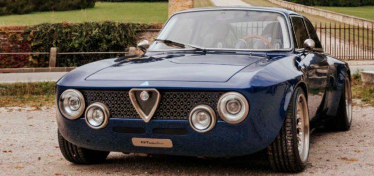 Італійці презентували раритетний автомобіль Alfa Romeo Giulia