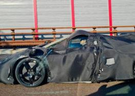 Компанія Ferrari тестує загадковий прототип