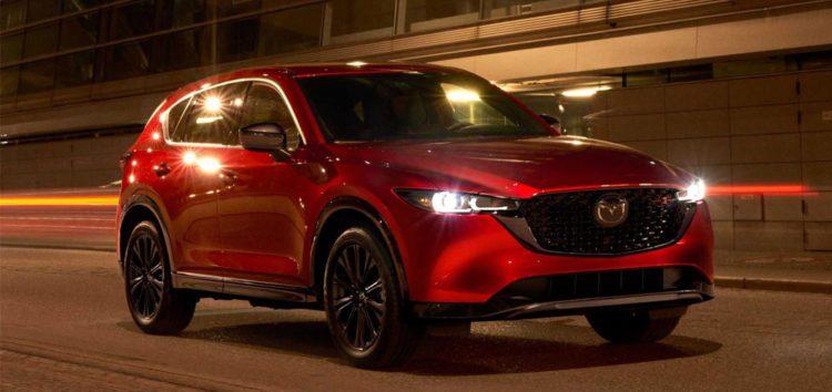 Опублікували зображення нової Mazda CX-5 2022