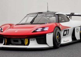 Porsche продемонструвала електричний болід Mission R Concept
