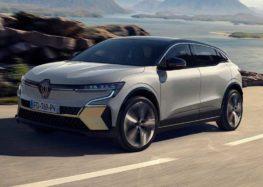 Renault випустило серійний електрокросовер Megane