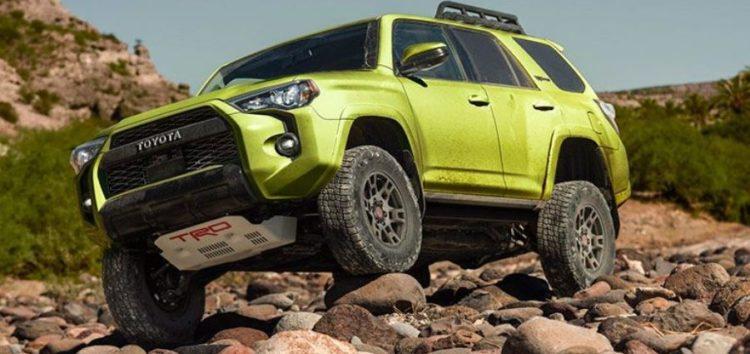 Toyota 4Runner 2022 отримає розширення TRD Sport