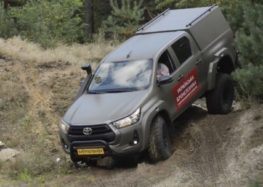 В Україні показали нову модель армійського позашляховика