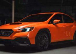 Subaru випустила новий WRX
