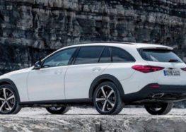До Європи надійшла новітня модель Mercedes C-Class All-Terrain