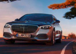 Mercedes-Benz випустив новітній Maybach