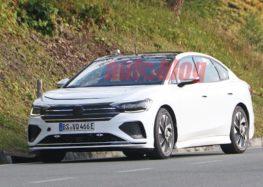 Електроседан Volkswagen помітили під час тестування